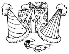 Birthday Drawing For Kids Birthday Girl Coloring Page Free Clip