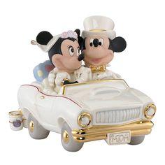 Lenox Minnie's Dream Honeymoon Figurine, Gold (Porcelain)
