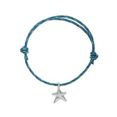 A Daniella Draper Sailing Rope mini charm friendship bracelet is the perfect gift for yourself or a friend. The unique solid silver charm is threaded onto an adjustable Sailing Rope bracelet, which is tied by a slip knot. The charm you choose will come on either a pink, red, blue or purple cord. Choose from a small angel, kiss, heart, open circle or disc. These bracelets can be worn alone or with a combination of bangles from the Daniella Draper range to create your own unique collection.