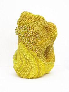 Angelika Arendt - yellow sculpture