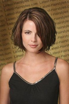 Sleek Short Layered Bob Hairstyle