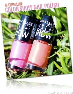 "Maybelline Limited Edition ""Color Goes Electric"" Color Show Nail Polish"