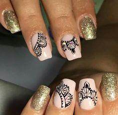 Adhesive, Vestidos, Polish Nails, Decorations, Nail Art Designs