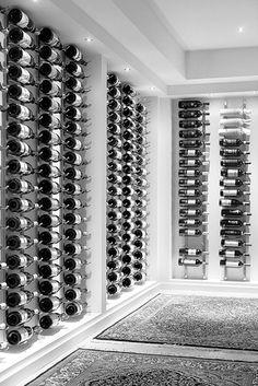 Julie Charbonneau -  Modern Farmhouse Wine Room (Chatelaine)