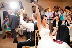 Festlekar och aktiviteter på bröllop