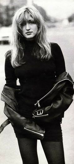 Carolyn-Bessette-Kennedy- at age 25 in French Vogue