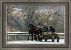 Rural #Romania #Framed #Print By Judi Saunders