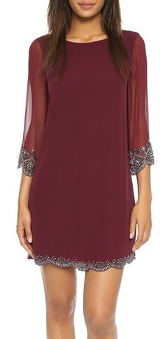 Gorgeous Alice & Olivia dress with beading detail - take an extra 25% off with code:  EXTRAEXTRA