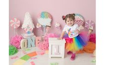 Melanie's 1st Candy birthday party | CatchMyParty.com