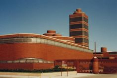 Johnson Wax Administration Building. 1936-9. Racine, Wisconsin. Frank Lloyd Wright.