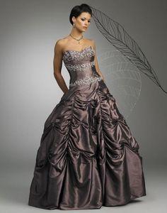 Gunmetal Wedding Dress