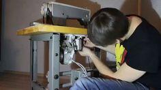Обзор сервомотора для промышленной швейной машины