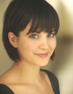 Medium Short Haircut with Bangs Cute-Ways-To-Style-S