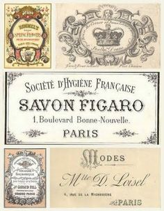 .FREE RARE FRENCH VINTAGE ...printables by Korvous
