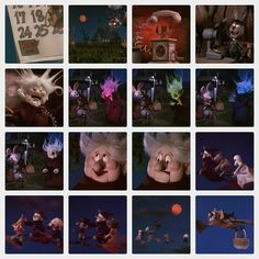 Madame Esmerelda and Halloween time from Here Comes Peter Cottontail 1971
