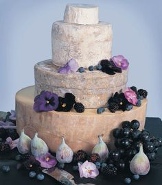 lilac and fig cheese #cheesetower