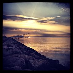 Insonnia, alba a Marina di Ravenna - Instagram by eli_hels