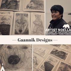 highlighting Noella Cockney of Northwest Territories, Indigenous Art, Artist, Movie Posters, Movies, 2016 Movies, Film Poster, Films, Artists
