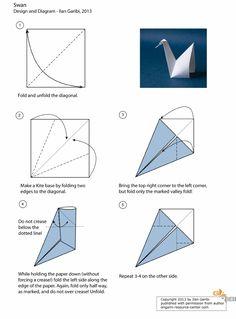 Origami Swan By Garibi Uberschizo