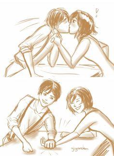 Oooh Eren so cheated lol!