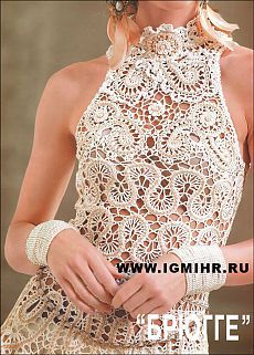 Топ или туника в технике брюгге - will bring you to a board with lots of Irish Lace Patterns