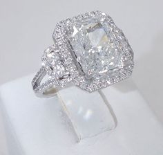 radiant cut engagement rings | ... RADIANT CUT DIAMOND ENGAGEMENT RING | Engagement Rings and Wedding