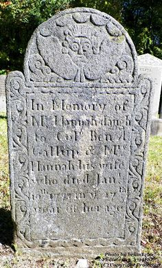 Granite in My Blood: Tombstone Tuesday: Hannah Gallup, died of typhoid fever #genealogy