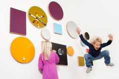 Kotonadesign is a finnish brand that designed the collection of cool boards with frames of plywood. These notice boards are perfect for home décor and will be Magnetic Chalkboard, Board For Kids, Kids Decor, Home Decor, Magnets, Kids Room, Cool Stuff, Gallery, Children