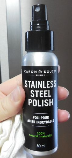 Stainless Steel Polish #Review from Caron & Doucet!