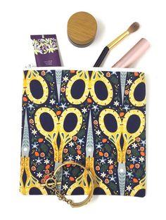 Scissors Pouch Gift for Her Gift For Mom Vintage Scissors