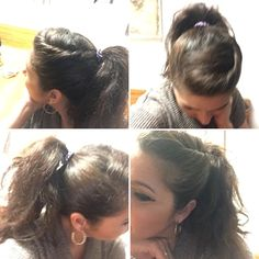 Never too 'adult' for a ponytail!!  This DIY is an Insta-lift.