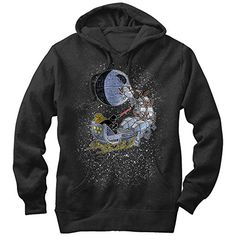 Star Wars Christmas Darth Vader Santas Sleigh Mens Graphic Lightweight Hoodie ** Click on the image for additional details. (This is an affiliate link) #StarWarsClothing