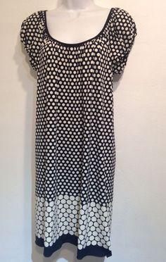 max studio polka dot dress size xs #MaxStudio #Sundress #Polkadot