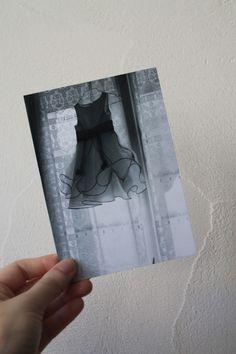 """Carte postale """"la petite robe de mariée"""" : Cartes par le-petit-bazar-des-trinomettes-en-delire"""