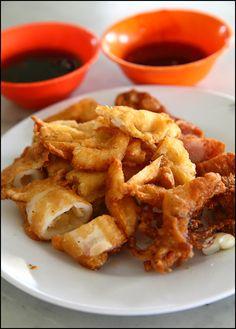 Penang Loh Bak @ Kheng Pin Cafe, Penang Road