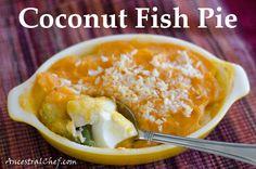 Coconut fish pie - paleo/primal