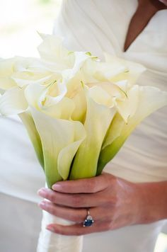 Calla Lily Bouquet by 4eyes Photography