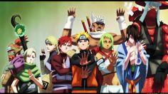 Naruto and the other Jinchuriki