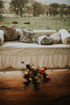 The perfect Autumn Winter Wedding from House of Hud and The Arabian Tent Company. With perfect Burgundy and Warm Autumnal touches. The William Morris interior and floral touches make for the perfect classic and timeless Autumnal Wedding. Marquee Wedding, Wedding Venues, Wedding Venue Inspiration, Wedding Ideas, Arabian Tent, Wedding Draping, 2018 Wedding Trends, Color Of The Year 2017, Wedding Furniture