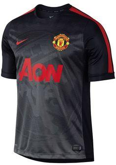 82e44324f9 El Manchester United estrena sus últimas camisetas de Nike Equipamentos De  Futebol