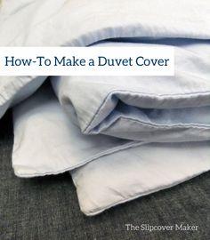 Bedroom Slipcovers: How-To Make a Duvet Cover | The Slipcover Maker