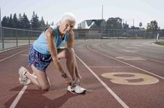 """Joy Johnson. Over 80 and running marathons. In her kitchen is this verse.  Isaiah 40:31  """"But they who wait for the Lord shall renew their strength. They shall mount up with wings like eagles. They shall run and not be weary, they shall walk and not faint."""""""
