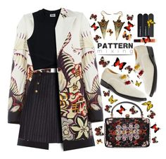 """ #507 #patternmixing"" by wonderful-paradisaical ❤ liked on Polyvore featuring Etro, See by Chloé, Alexander McQueen, Toga, Guerlain, MAC Cosmetics, trending, polyvorecontest, patternmixing and PolyvoreMostStylish"