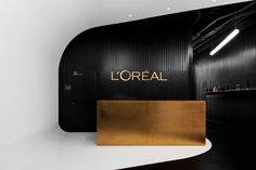 IND architects were tasked to realize the design for L'Oréal's offices located in Moscow, Russia. The interior of Moscow L'ORÉAL office has combined two Hotel Reception, Reception Design, Office Reception, Tyler The Creator Wallpaper, Restroom Design, Waiting Area, Office Interior Design, Commercial Interiors, Retail Design