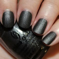 """Hunger Games China Glaze polish in """"Stone Cold"""" #iwantthis"""