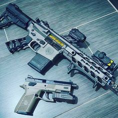 #Repost from @pewfessional Hell of a nice pair AR pistol built on an @article_ii_firearms matching billet upper and lower set with cerakote by @sorcerycustoms BCG from @grahamdefenseusa optic and IR laser by @holosunoptics grip by @tactical_dynamics_llc a