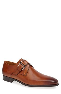 Free shipping and returns on Magnanni 'Hugo' Monk Strap Slip-On at Nordstrom.com. Exceptional leather forms a Euro-style slip-on topped with high-shine hardware for a head-turning look.