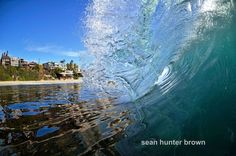 Sean Hunter Brown will show you the ocean in ways you've never seen before.    For more than 27 years, Brown has been a surfing enthusiast, but only recently has he begun to show his unique perspective of the water through photography.    Trust us, the work he produces with his Nikon D7000 changes the definition of a white-water view.