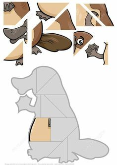 Jigsaw Puzzle with Platypus Puzzle games Maths Puzzles, Puzzles For Kids, Jigsaw Puzzles, Engage In Learning, Preschool Activities, Hard Brain Teasers, Free Printable Puzzles, Cartoon Font, Brain Puzzle Games