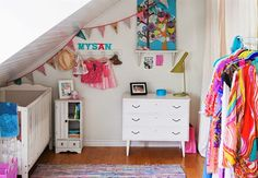 colorful kids bedrooms